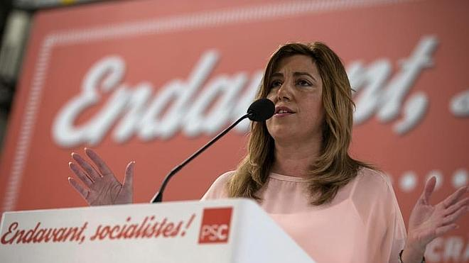 Susana Díaz presidirá el Congreso extraordinario del PSOE