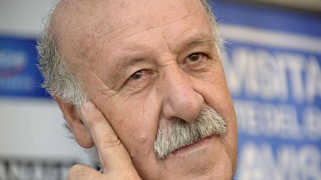 Del Bosque ya tiene su estrella en Málaga