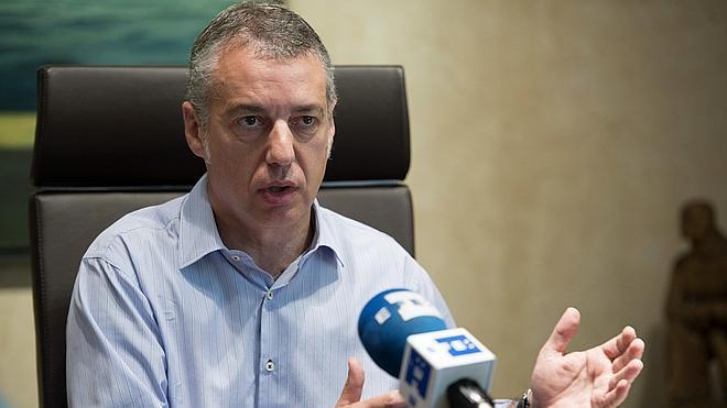 Urkullu afirma que muchos presos desean liberarse de la estrategia de ETA