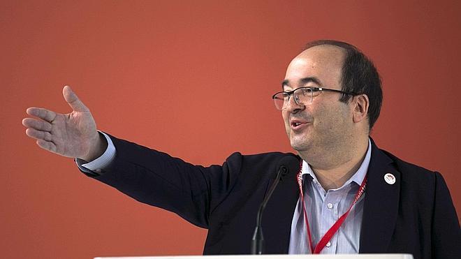 Iceta alerta a Artur Mas de que ERC le llevará al «desastre»