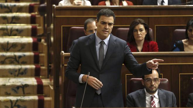 Rajoy, a Sánchez: «El PSOE estaba mejor con Rubalcaba que con usted»