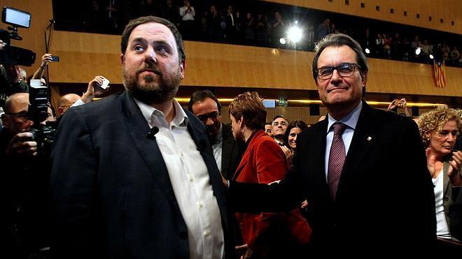 Homs ve margen para un acuerdo entre Mas y Junqueras, que considera «obligado»