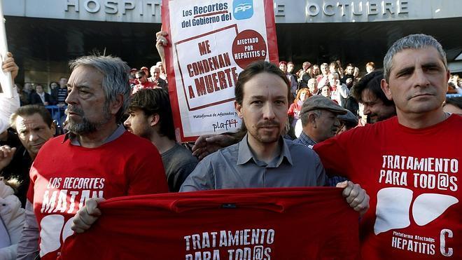 Pablo Iglesias exige al Gobierno que no deje morir a los enfermos de hepatitis C