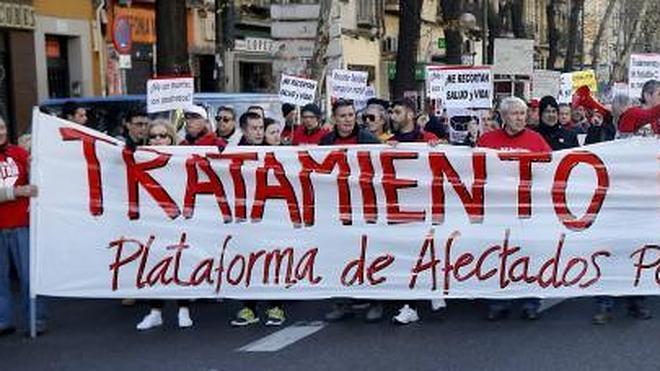 Marcha para pedir al Gobierno un «tratamiento para todos» de la Hepatitis C