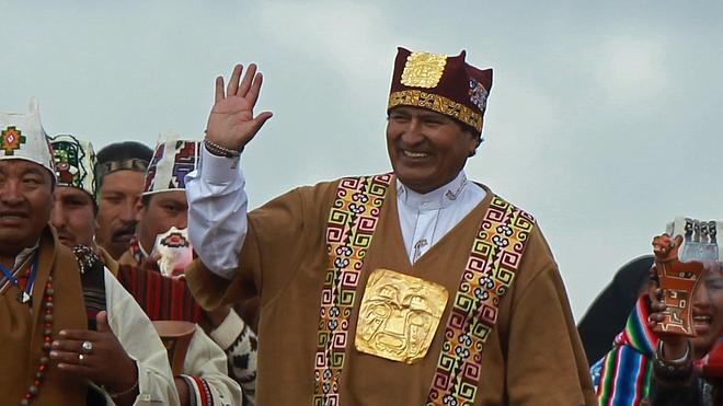 Evo Morales jura su tercer mandato consecutivo como presidente de Bolivia