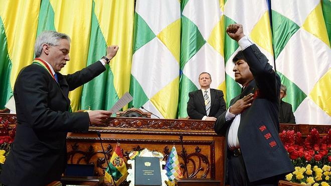 Evo Morales estrena gabinete con trece nuevos ministros