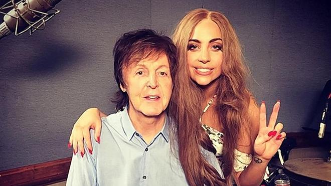 Paul McCartney y Lady Gaga están componiendo juntos