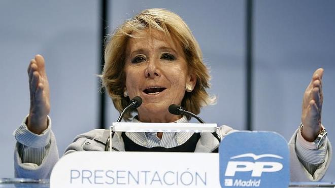 Aguirre pide a Aznar que participe en su campaña
