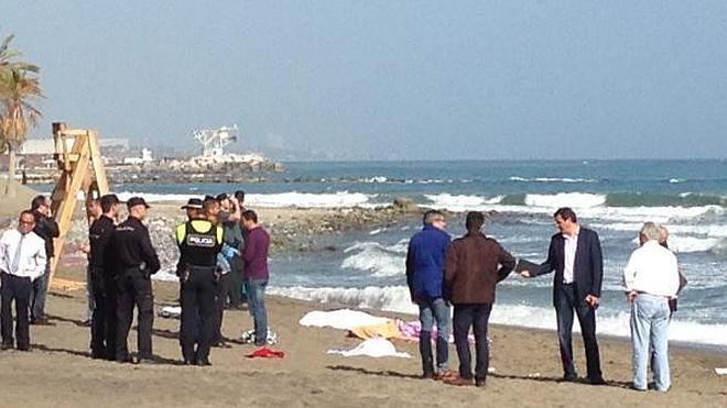 Mueren ahogados un profesor y dos estudiantes turcos en una playa de Marbella