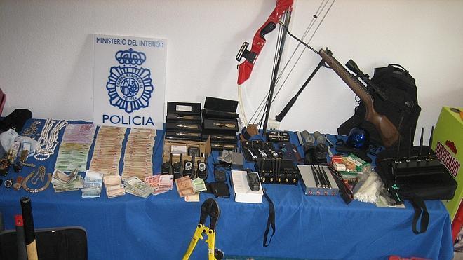 Cae un grupo especializado en atracos y robos en viviendas habitadas