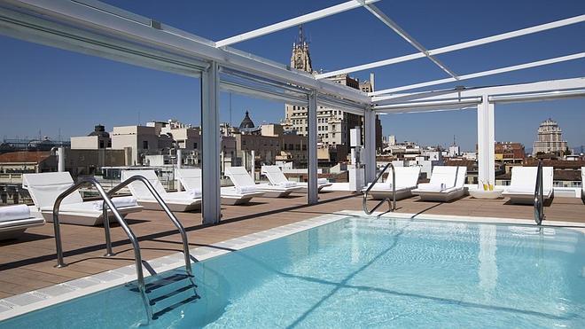 Paraísos con piscina en las azoteas de Madrid