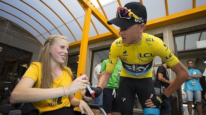 Froome se inscribe en la Vuelta a España