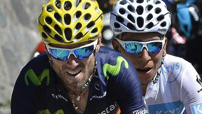 Quintana y Valverde estarán al frente del Movistar