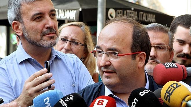 El PSC rechaza un frente común con el PP y Ciudadanos frente al soberanismo