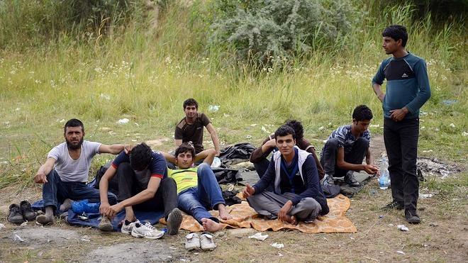Un número récord de inmigrantes cruza la frontera entre Serbia y Hungría
