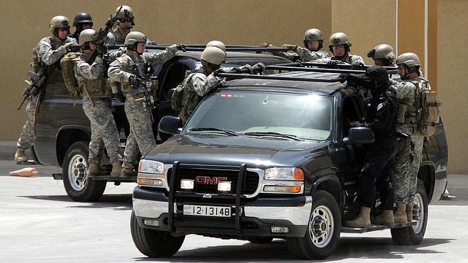 Un policía jordano mata a dos militares de EE UU y a otro sudafricano