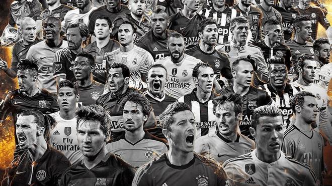 11 españoles entre los 55 preseleccionados para el 'Once FIFPro 2015'