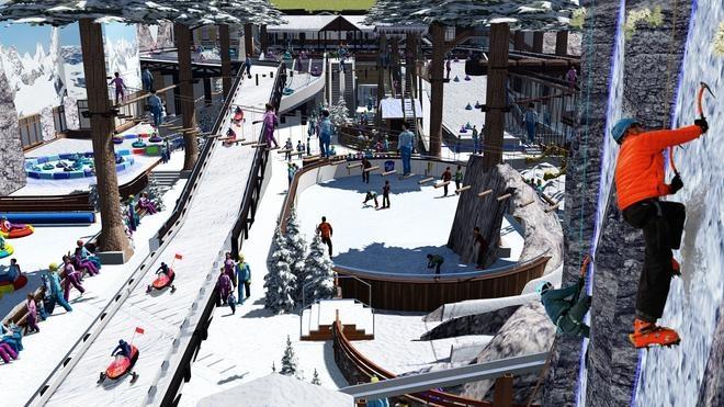 Omán se presenta al mundo del esquí indoor