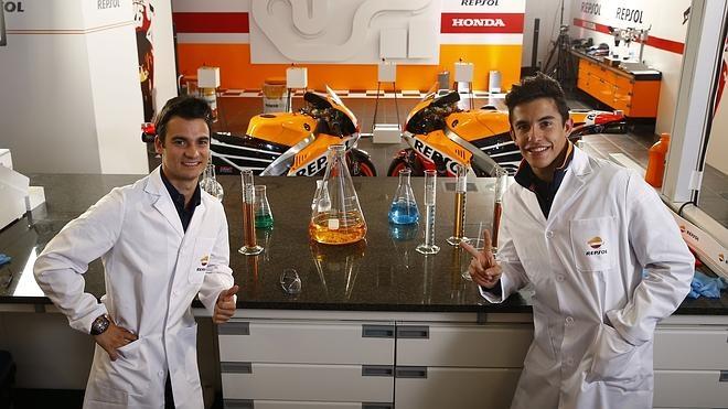 Márquez y Pedrosa, los científicos de MotoGP