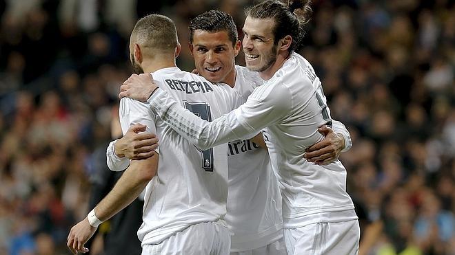 Reaparece la BBC y disfruta el Real Madrid