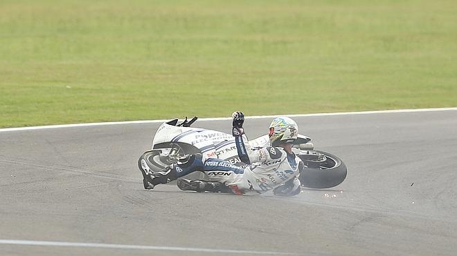 ¿Problema de neumáticos o de moto?