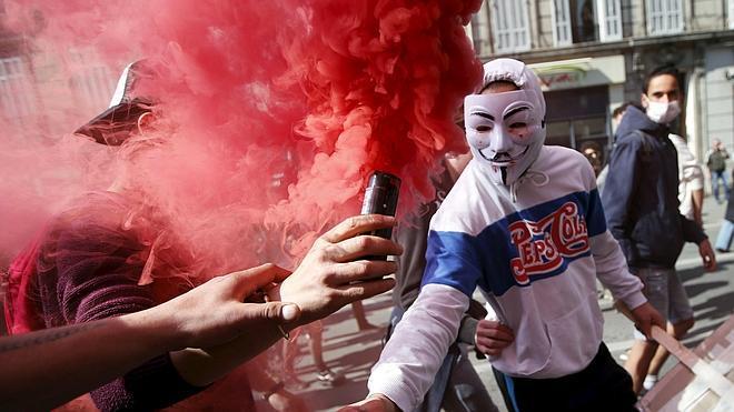 Disturbios en Francia en otra jornada de protesta por la reforma laboral
