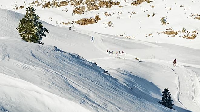 La nieve se resiste a dejar España