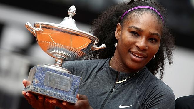 Serena Williams conquista por cuarta vez el Torneo de Roma