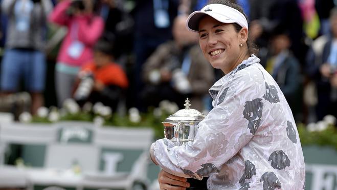 Muguruza: «Si llego al número uno, sentiré más ganas de dominar el tenis femenino»