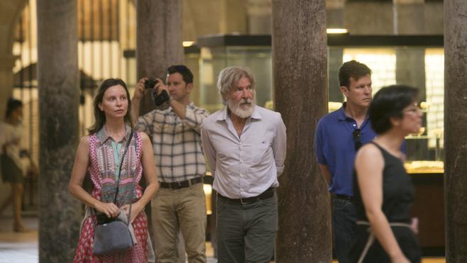 Harrison Ford y Calista Flockhart visitan la Alhambra de Granada