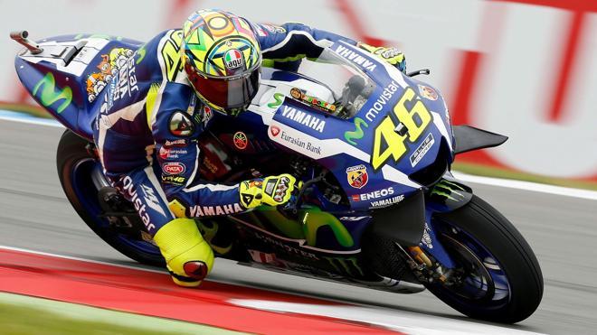 Rossi: «Me gusta Sachsenring, daré lo mejor para hacer una buena carrera»