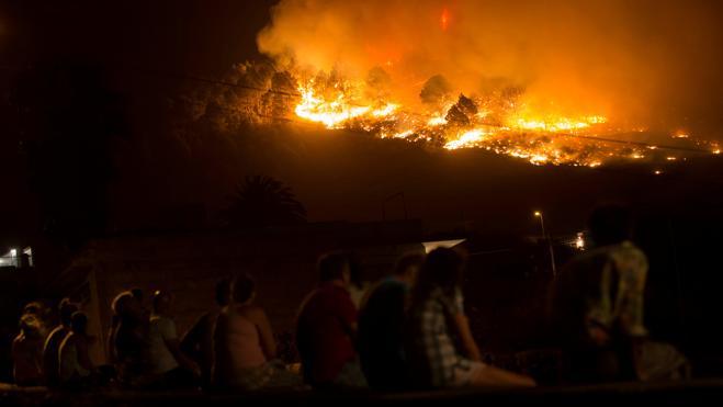 El fuego de La Palma ya ha afectado a 3.500 hectáreas