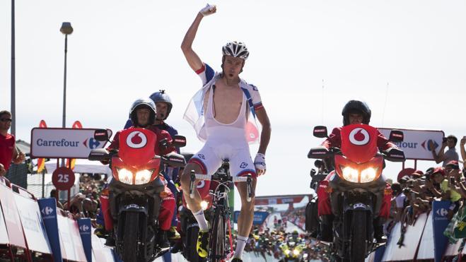 Movistar gana, Contador pierde