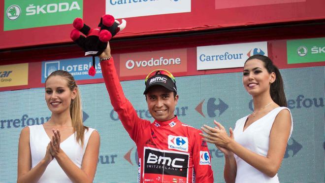 Darwin Atapuma: «Ser líder de la Vuelta es un sueño hecho realidad»