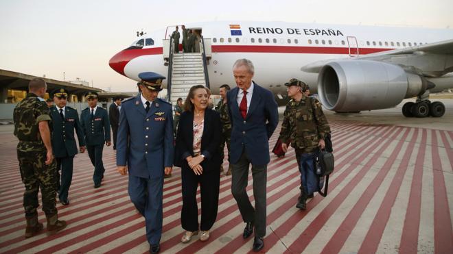 Morenés destaca el compromiso español por la paz y la estabilidad en Oriente Próximo