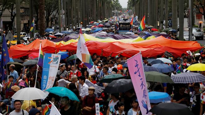 Taipei, capital del orgullo LGBT