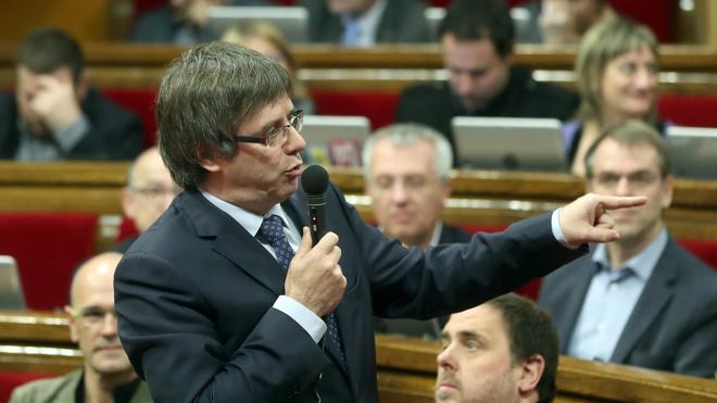 Puigdemont, a Rajoy: «El simulacro de operación diálogo no frenará la independencia»