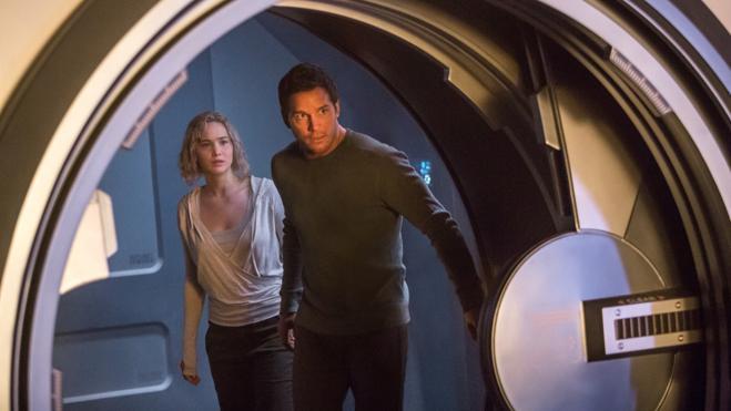 'Passengers' lidera la última tanda de estrenos del año