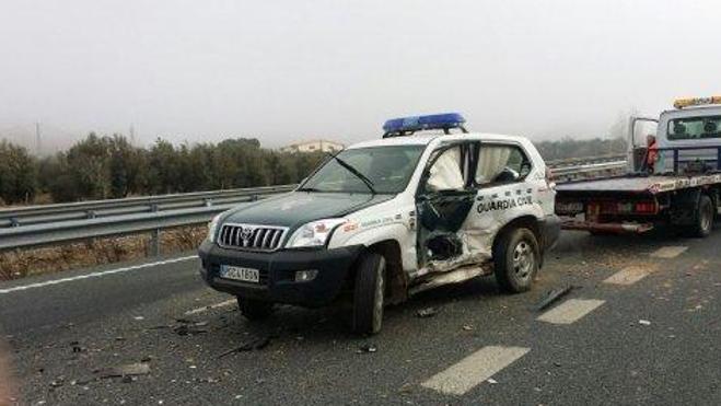 Prisión para el kamikaze que embistió a una patrulla de la Guardia Civil en Granada