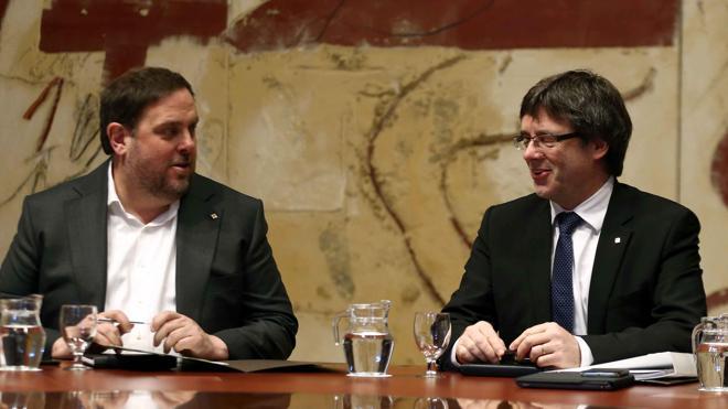Puigdemont: «Este año acabará el proceso y comenzará la era de la Cataluña libre»