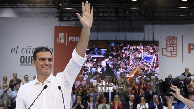 Pedro Sánchez: «Estoy fuerte y con ganas; no descarto presentarme»