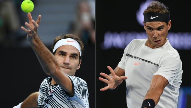 Los enfrentamientos Nadal-Federer, en números