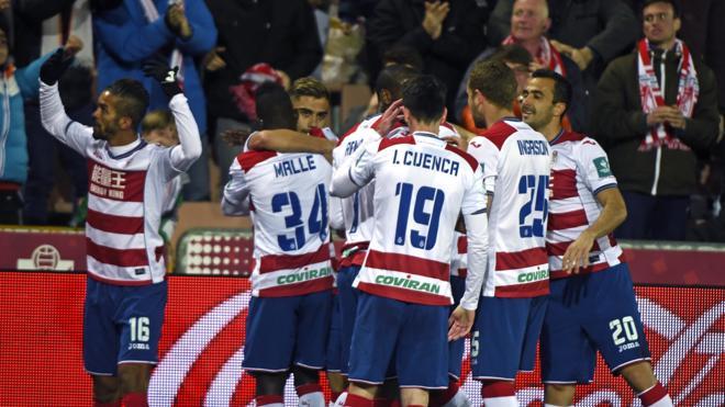 El Granada gana un vibrante partido y vuelve a creer en la permanencia