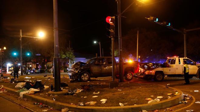 Identificado el conductor ebrio que atropelló de 28 personas en el carnaval de Nueva Orleans