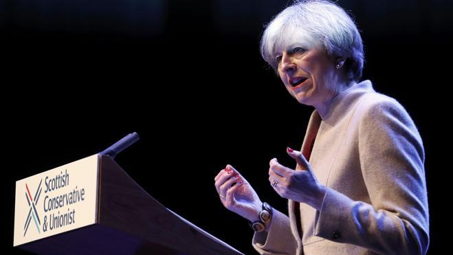 May dice a los independentistas escoceses que la política «no es un juego»