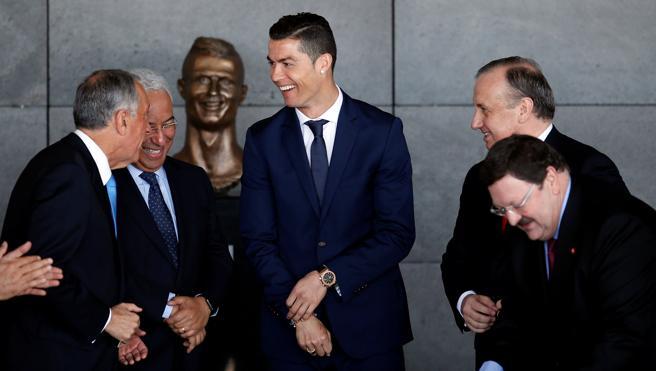 Cristiano Ronaldo ya tiene su aeropuerto