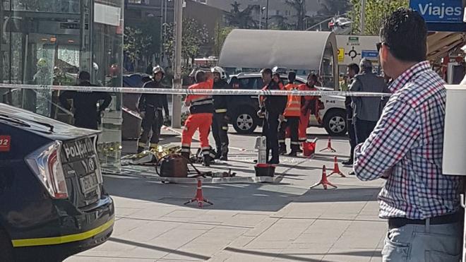 Fallece un operario tras quedar atrapado por un ascensor del metro en Granada