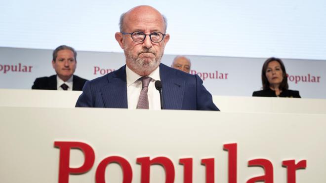 El Popular cierra su semana negra con pérdidas de 800 millones en Bolsa