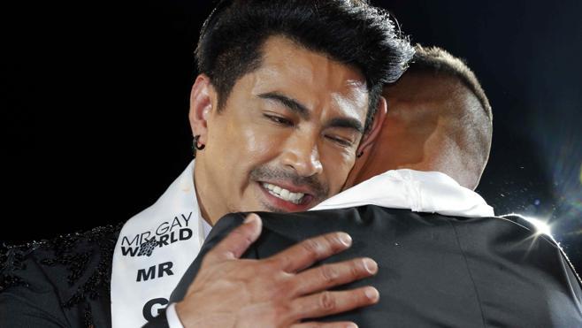 El filipino John Fernández Raspado se corona Míster Gay World en Gran Canaria