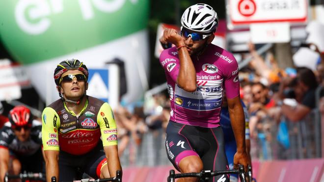 Gaviria suma su tercera victoria de etapa